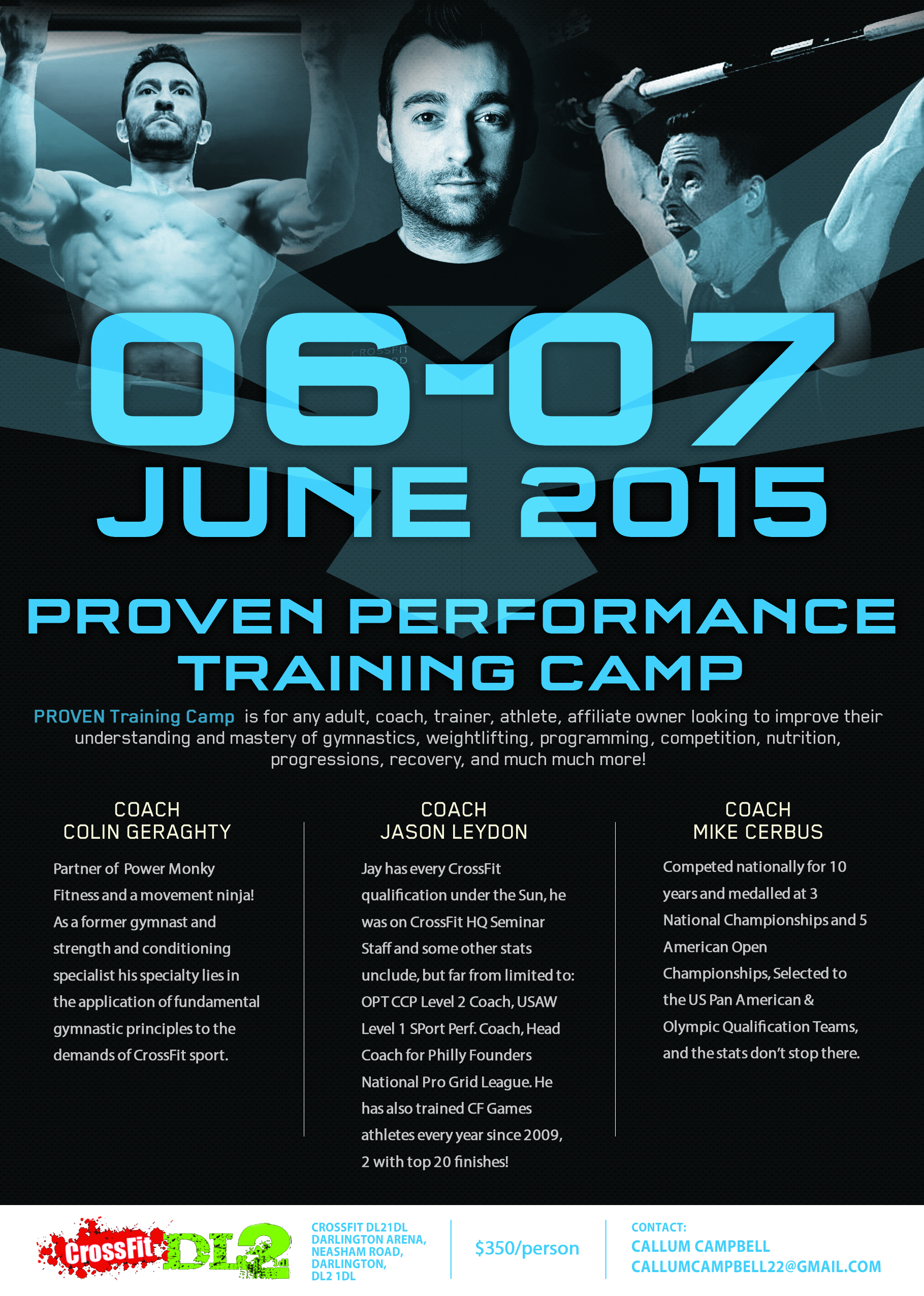 Proven Performance Training Camp